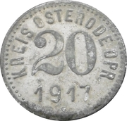 20 pfennig - Osterode – avers