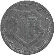50 pfennig - Ettlingen – revers