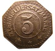 5 Pfennig (Segeberg) – revers