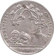 50 Pfennig Regensburgburg [Strassenbahn, Bayern] – avers