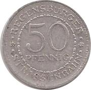 50 Pfennig Regensburgburg [Strassenbahn, Bayern] – revers