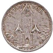 50 Pfennig (Regensburgburg) [Strassenbahn, Bayern] – avers