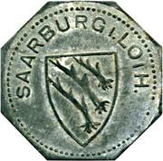 50 pfennig Saarburg-Lothringen – avers