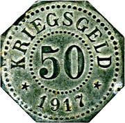 50 pfennig Saarburg-Lothringen – revers