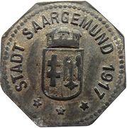 10 Pfenning -Saargemund (Sarrguemines) -[57] – avers