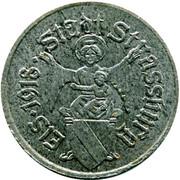 10 Pfennig - Strassburg (Strasbourg (67) -  avers
