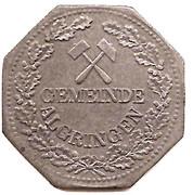 5 Pfennig - Algringen (Algrange, 57) – avers