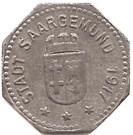 5 Pfenning - Saargemund ( Sarreguemines ) – avers