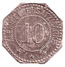 10 Pfennig (Forbach) [Stadt, Lothringen] – avers