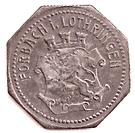 10 Pfennig (Forbach) [Stadt, Lothringen] – revers