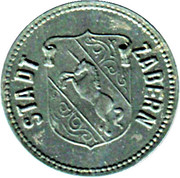 50 pfennig - Kleingeldersatzmarke - (Zabern) Saverne [67] – avers
