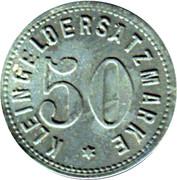50 pfennig - Kleingeldersatzmarke - (Zabern) Saverne [67] – revers