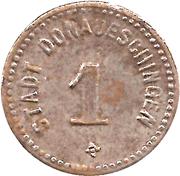 1 Pfennig (Donaueschingen) [Stadt, Baden] – avers