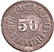 50 Pfennig (Traunstein) [POW, Bayern] – avers
