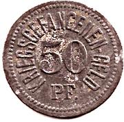 50 Pfennig (Traunstein) [POW, Bayern] – revers
