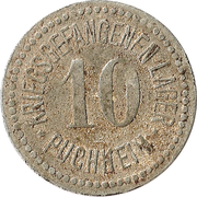 10 pfennig - Puchheim (Gefangenenlager) – avers