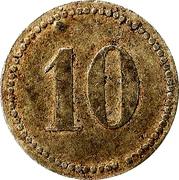 10 pfennig - Puchheim (Gefangenenlager) – revers