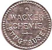 5 Pfennig (Burghausen an der Salzach) [Private, Bayern, Wacker Chemie] – avers