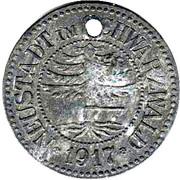 50 Pfennig (Neustadt im Schwarzwald) [Stadt, Baden] – avers