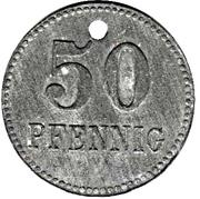 50 Pfennig (Neustadt im Schwarzwald) [Stadt, Baden] – revers
