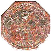 10 Pfennig (St Georgenim Schwarzwald) [Stadt, Baden] – revers