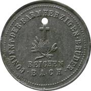 20 pfennig - Reichenbach (Wohltätigkeits & Pflegeanstalt) -  revers