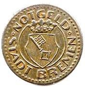 10 pfennig ( Bremen) – avers