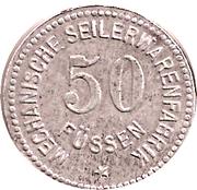50 Pfennig (Füssen) [Private , Bayern] – avers