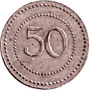 50 Pfennig (Füssen) [Private , Bayern] – revers