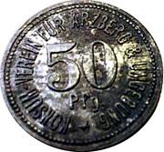 50 Pfennig Arzberg – revers