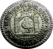 5 Pfennig (Frankfurt an der Oder) – avers