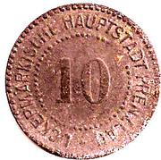 10 Pfennig (Prenzlau) [Stadt Brandenburg] – revers