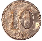 10 Pfennig (Guben) [Stadt, Brandenburg] – revers