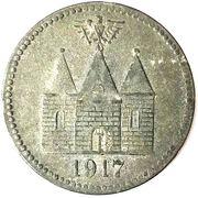 50 Pfennig (Wittenberge) [Stadtgemeinde, Brandenburg] – revers