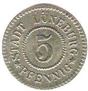 5 pfennig (Lüneburg) – avers