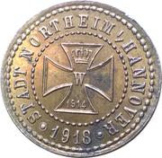 5 Pfennig (Northeim) [Kreis, Hannover] – avers