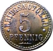 5 Pfennig (Northeim) [Kreis, Hannover] – revers