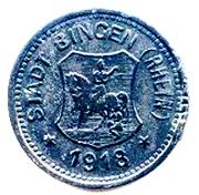 "10 Pfennig ""Bingen"" – avers"
