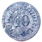 """10 Pfennig """"Bingen"""" – revers"""