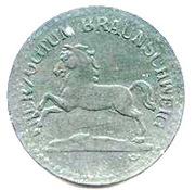 10 Pfennig Herzogtum Braunschweig – avers