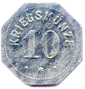 10 pfennig (Alzey) – revers