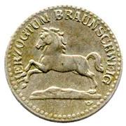 10 Pfennig (Braunschweig) – avers