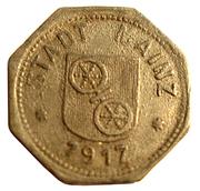 10 pfennig (Mainz) – avers