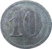 10 Pfennig - Orb (Pfeil Bad Orb) – revers