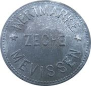 50 Pfennig - Bergheim (Zeche Mevissen) – avers