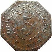 5 Pfennig - Linden (Hanomag) – revers