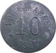 10 Pfennig - Höhn (Gewerkschaft Alexandria) – revers