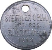 5 Pfennig - Züllchow (Stettiner Oelw. Act. Ges.) – avers
