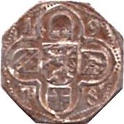 50 Pfennig (Lauterbach) [Kreis, Hessen] – revers