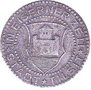 ½ Mark - 50 Pfennig (Tilsit) – revers
